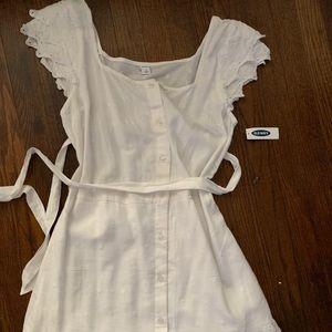Brand new Old Navy white boho dress